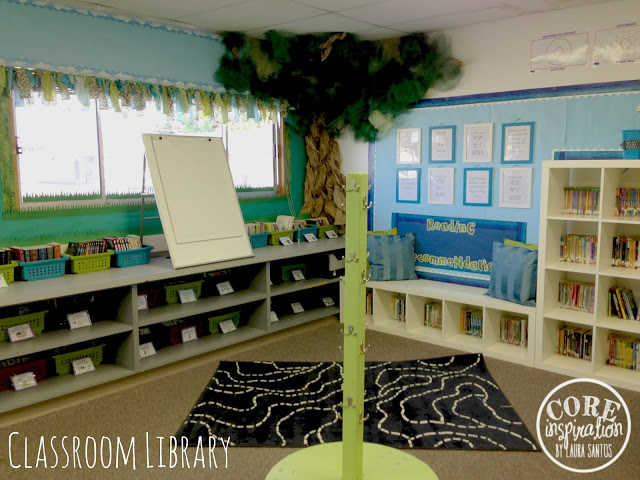 Core Inspiration Classroom Library Corner