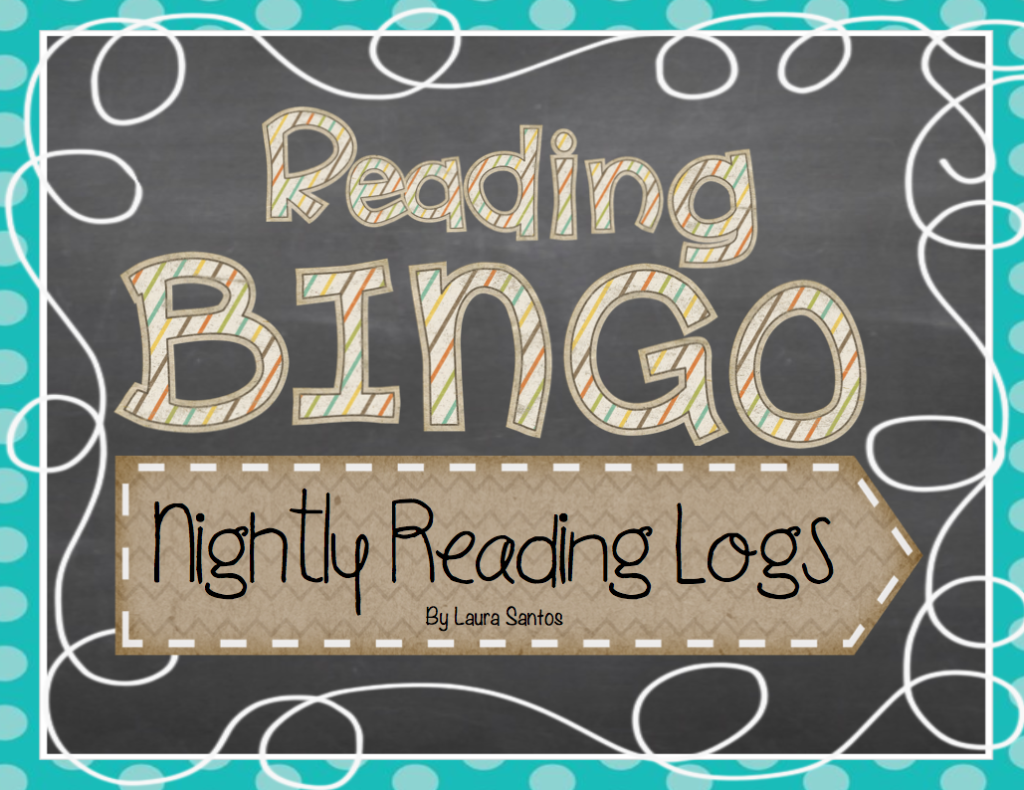 Reading Bingo Nightly Reading Logs Resource Cover