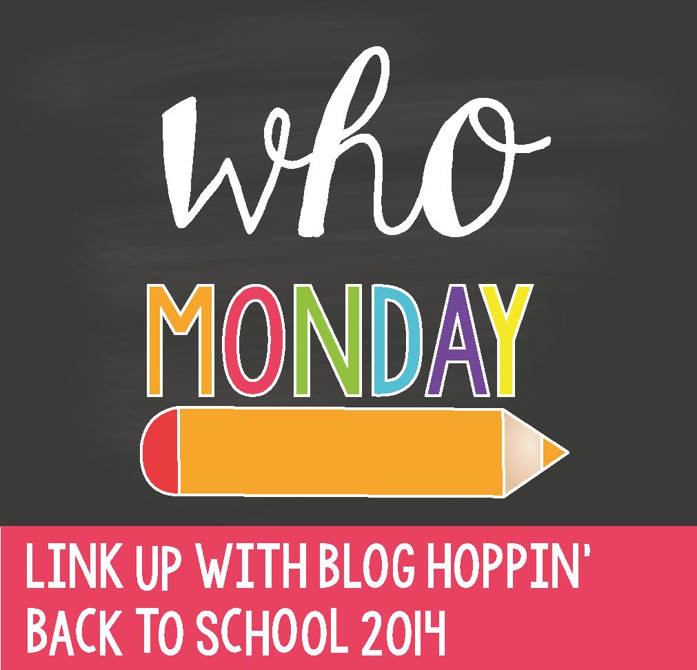 Blog Hoppin' Back To School Linky Header