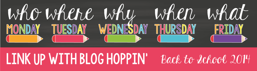 Blog Hoppin' Back To School Linky Footer