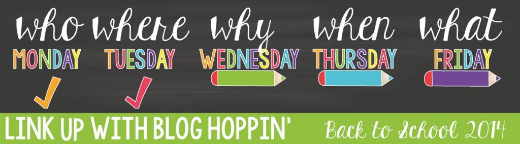 Blog Hoppin' Back To School 2014 Linky Header