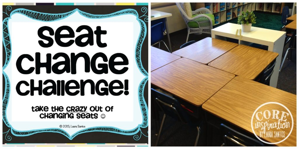 Seat Change Challenge free download and organized desks.