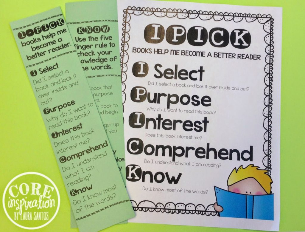 IPICK Poster and Bookmarks