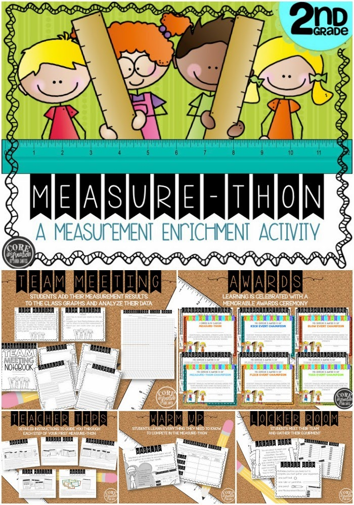 Measure-Thon TPT project cover and preview