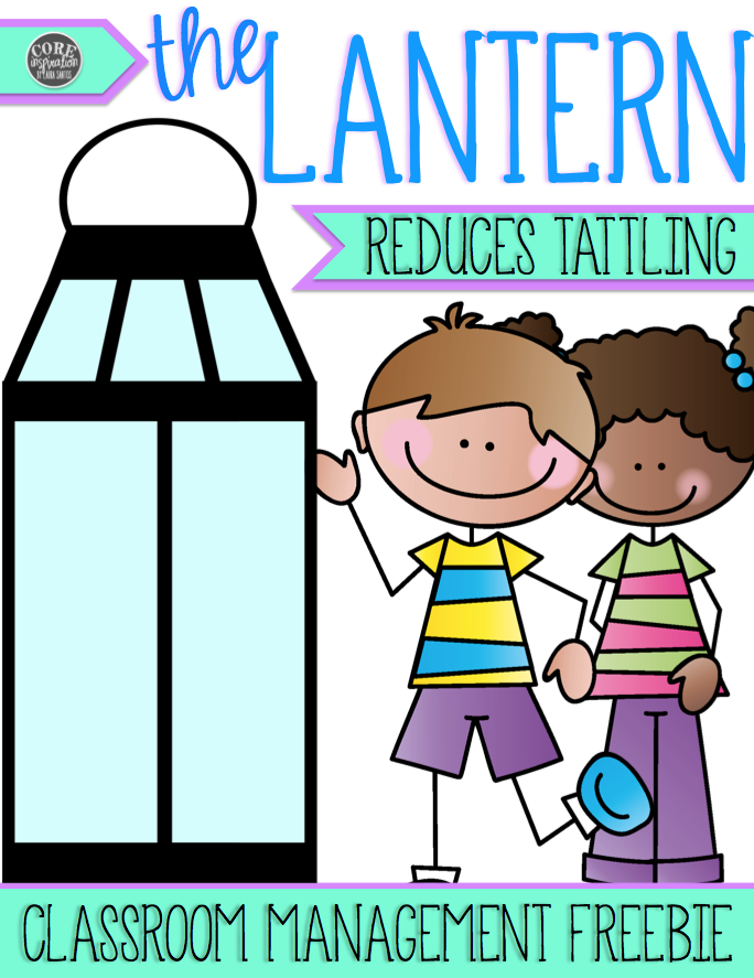 The Lantern Teachers Pay Teachers free resource cover page.