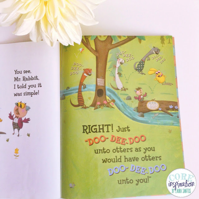 Book page from Do Unto Otters