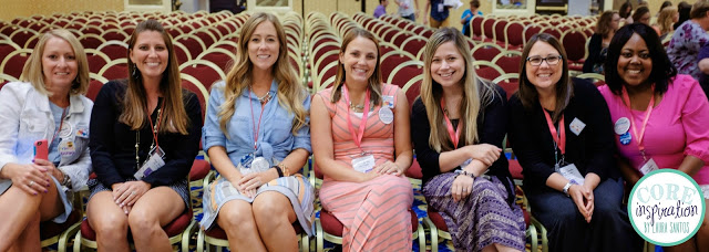 The Elementary Entourage blogging family at TPT 2015 Vegas Conference