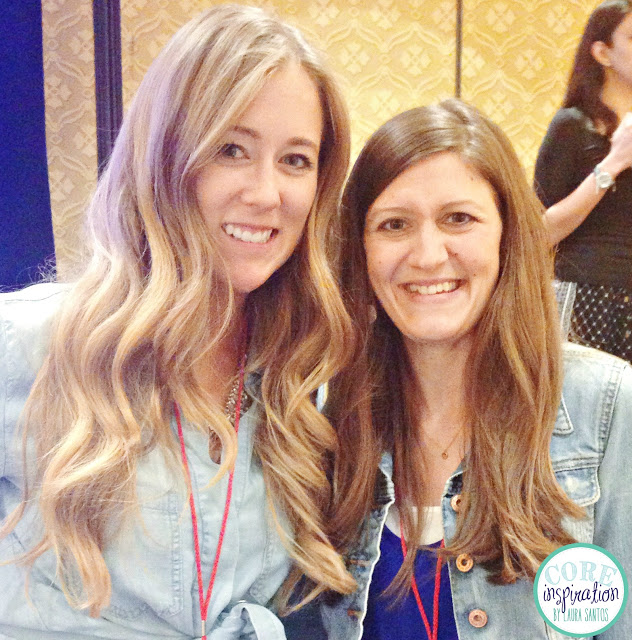 Maria Manore Gavin of Kinder Craze and Laura Santos of Core Inspiration