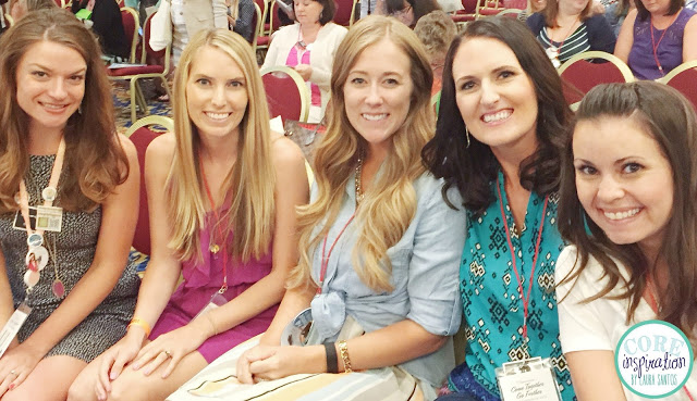 Teacher blogger friends at the TPT 2015 Seller's Conference