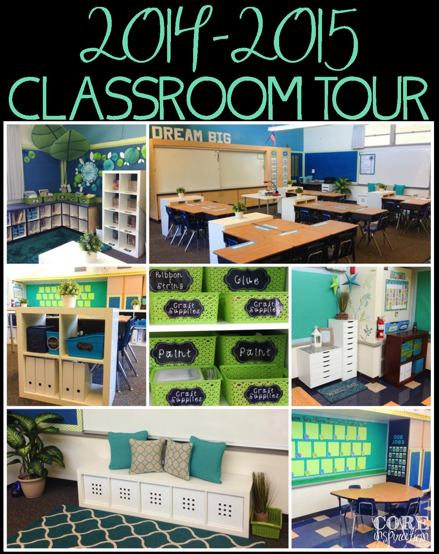 Core Isnpiration Classroom Tour 2014-15 Collage