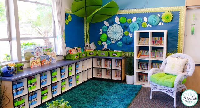 Core Inspiration classroom library.