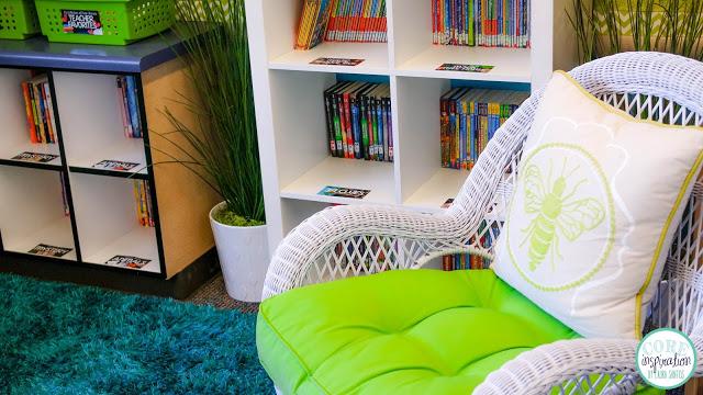 Core Inspiration cozy read aloud chair.