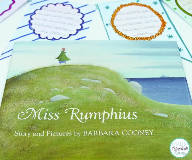 Miss Rumphius interactive read aloud lesson plan