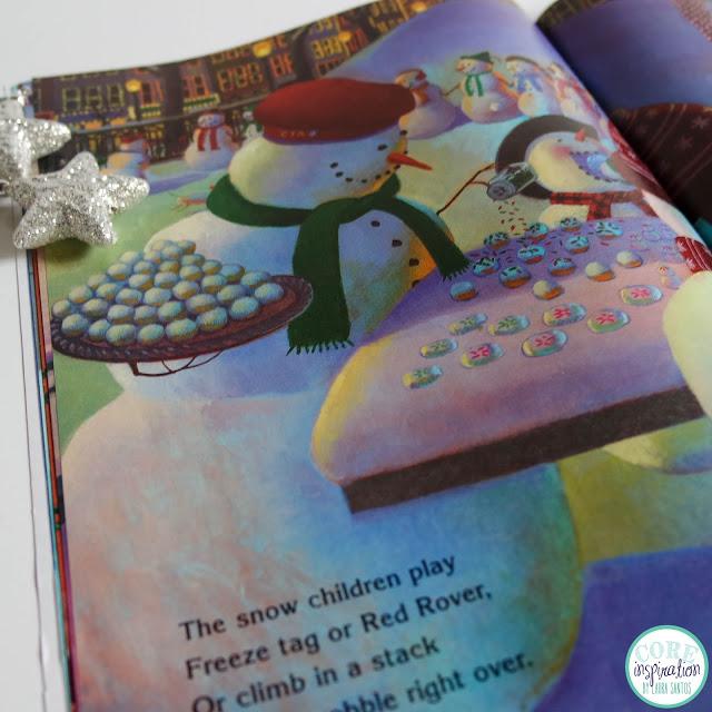 A peek inside the book Snowmen at Christmas