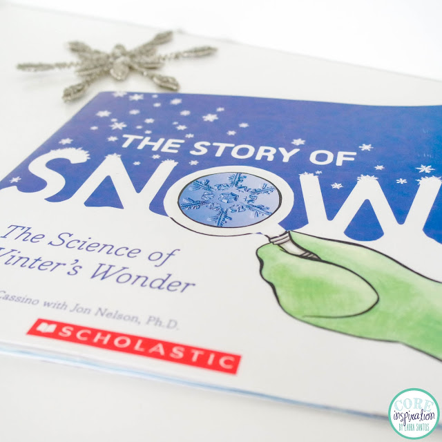 The Snow of Snow nonfiction read aloud book cover