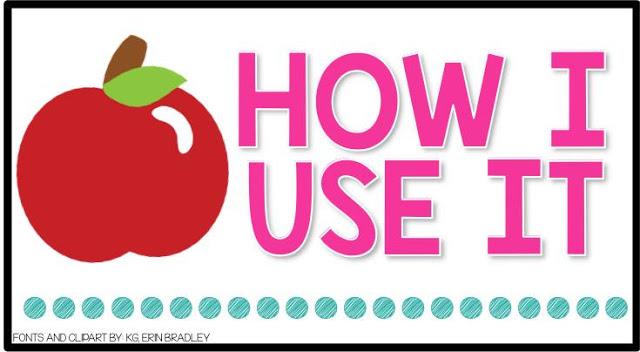 Books Teachers Love Blog : How I Use My Book Section Header