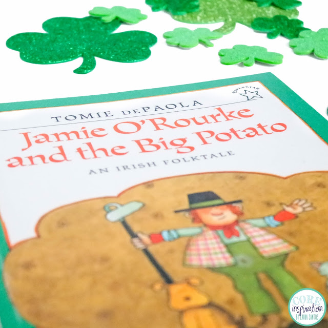 Cover of Tomie DePaola's Jamie O'Rourke and the Big Potato