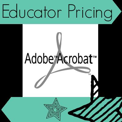 Adobe Acrobat Pro Educator Pricing