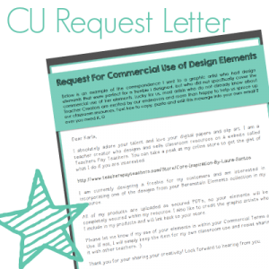 Commercial Use Request Letter Template