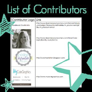 Teachers Pay Teachers List of Contributors