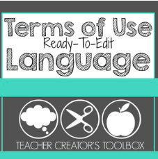 Terms of Use Ready To Edit Language download
