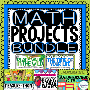 Core Inspiration Math Projects Bundle
