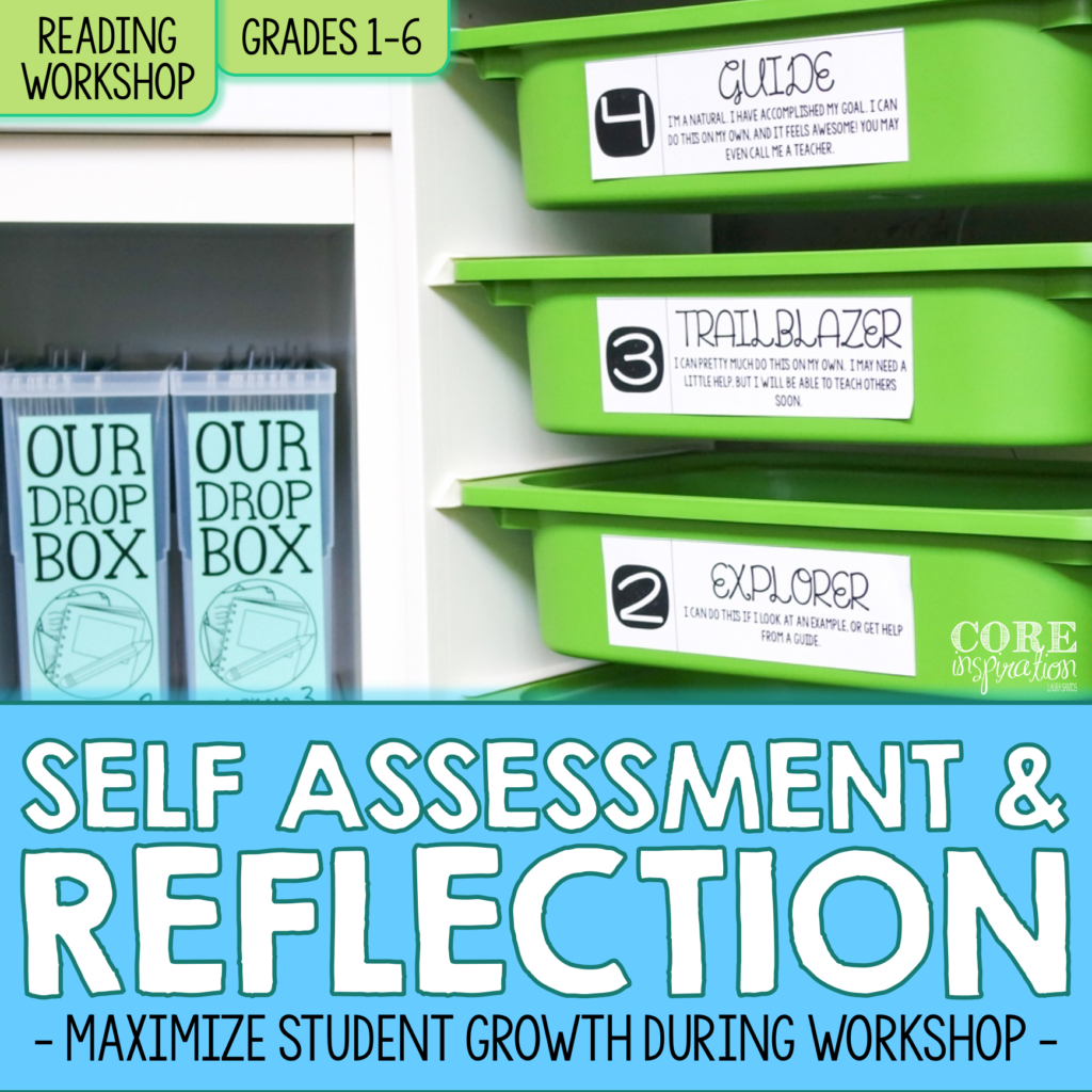 Cover image for Core Inspiration Student Self Assessment and Reflection Tools