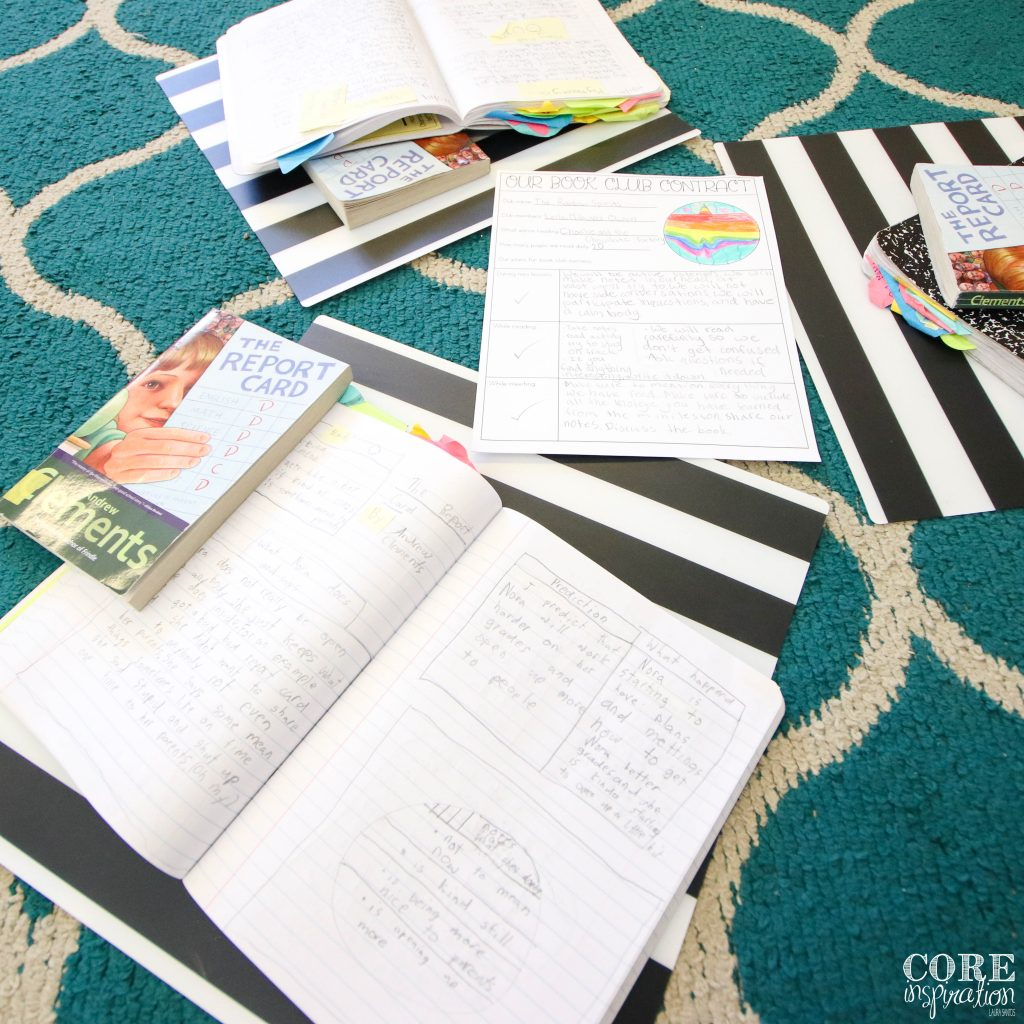 Low cost flexible seating option: Ikea plastic placemats allows students to work anywhere around the room with a hard surface to write on or can transform any rough surface into a smooth workspace.
