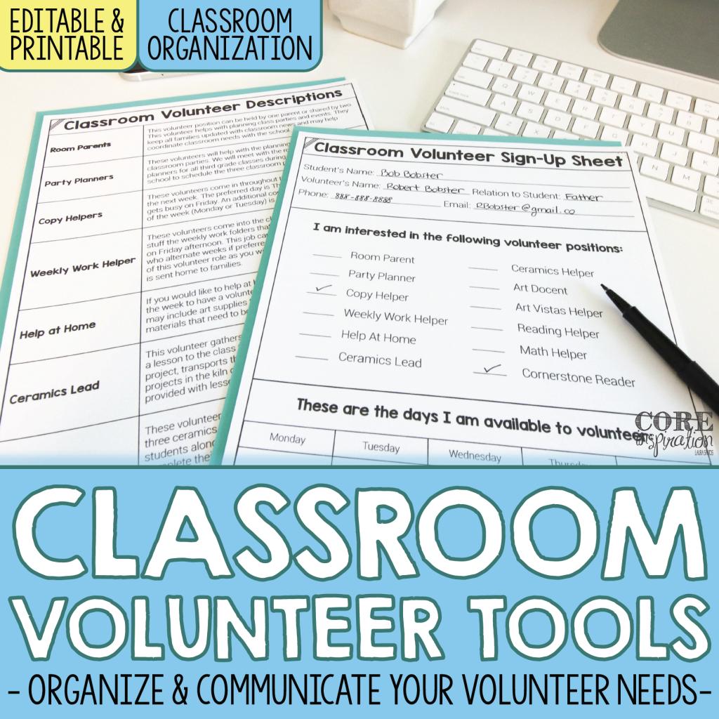 Classroom Volunteer Toolkit Resource Cover