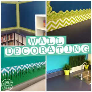 Decorating Your Walls for Back to School