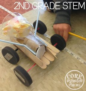 Second grader cars on a roll