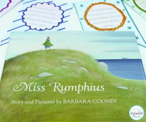 Miss Rumphius interactive read aloud lesson plan