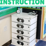 These three tips transformed the organization of small group instruction in my classroom. Differentiating for small groups can be challenging, so organizing your supplies and routines is essential. The second tip is so helpful!