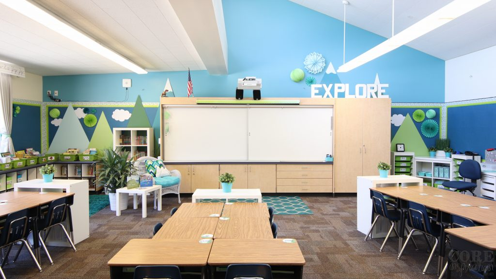 Core inspiration third grade classroom tour