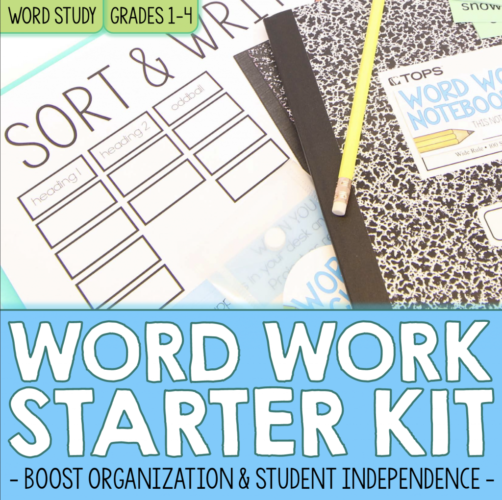 Core Inspiration Word Work Starter Kit Resource Cover