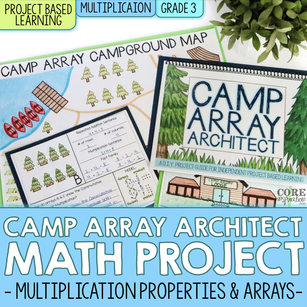 Core Inspiration 3rd Grade Multiplication PBL Resource Cover
