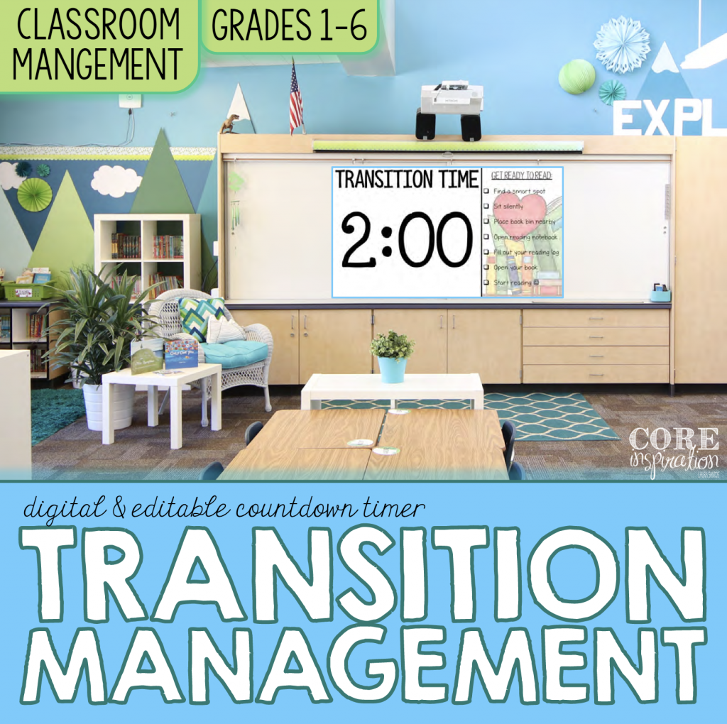 Core Inspiration Transition Management Resource Cover
