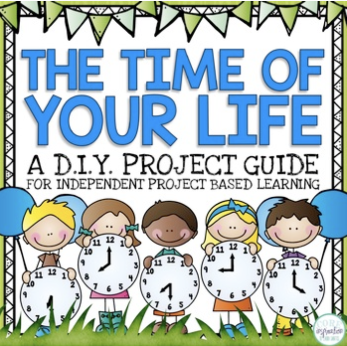 Core-Inspiration-Telling-Time-Math-Project-Cover